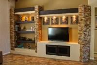 Media Wall 3 - Contemporary - Family Room - Phoenix - by ...