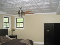 Evangeline and Continental Ceiling Tiles - Bedroom - by ...