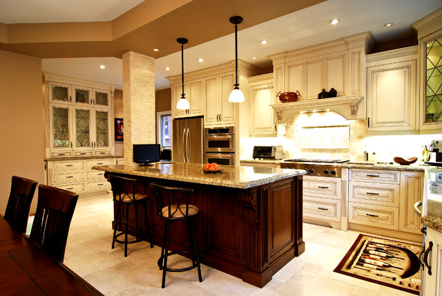 Kitchen Island For Sale Toronto Luxury European Kitchen - Traditional - Kitchen - Toronto