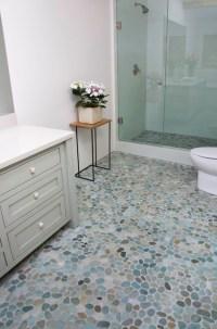 Island Stone Perfect Pebble Floor - Modern - Bathroom ...