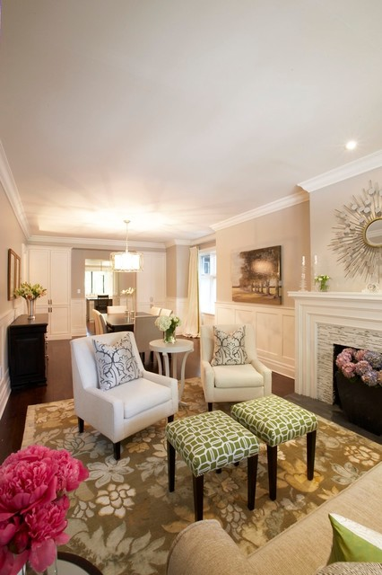 11 Design Ideas for Splendid Small Living Rooms - small living room chairs