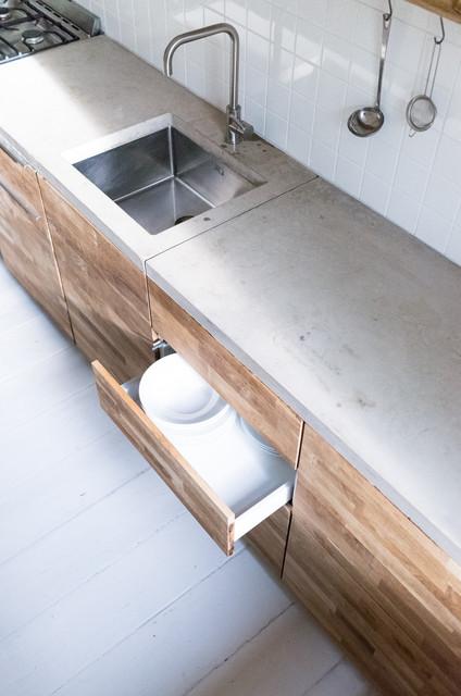 ... Edelstahl Spuelbecken Modern Wohnung Villawebinfo   Innovative  Bildhauerische Moderne Kuchendesign ...