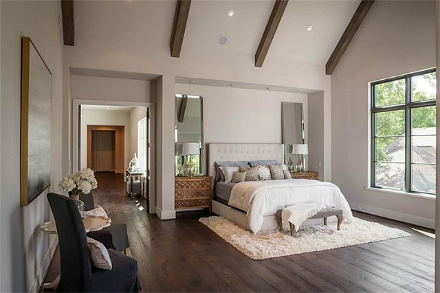 Large Mirrors Houston Bedrooms Shabby Chic Style Bedroom Houston By