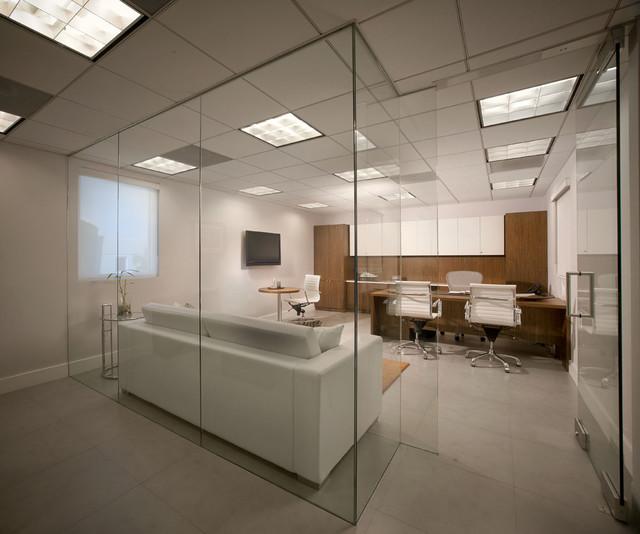 modern office space contemporary home office miami guimar organized interior design office space peltier interiors