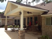 Covered Patio - Traditional - Patio - Houston - by ...