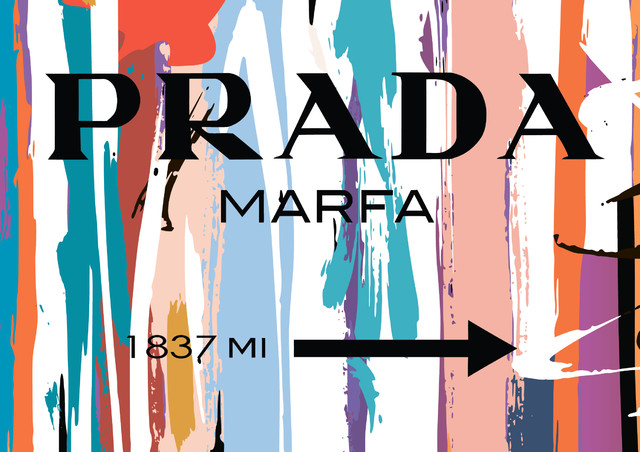 Prada Marfa Fashion Poster - Modern - Prints And Posters - by - fashion poster design