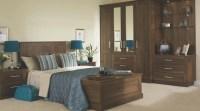 Walnut Effect Modular Bedroom Furniture System ...