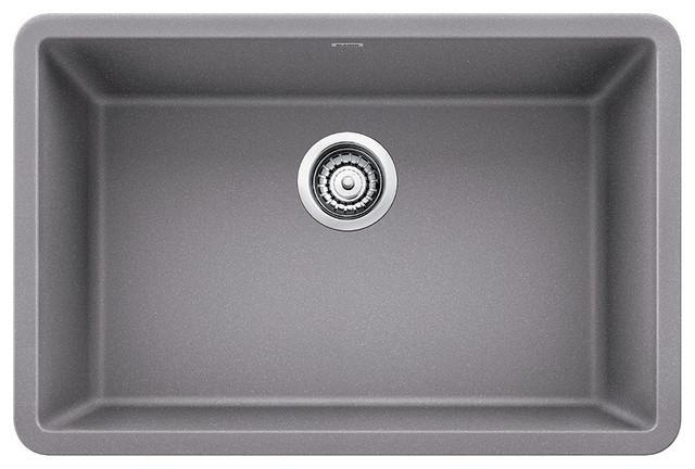 Blanco Precis Silgranit 27quot Single Bowl Kitchen Sink