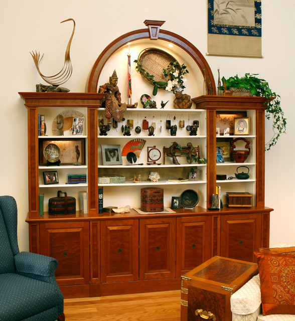 Display cabinet - Traditional - Living Room - New York - by - living room display cabinets
