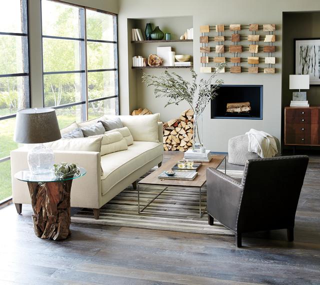 Crate and Barrel Living - crate and barrel living room