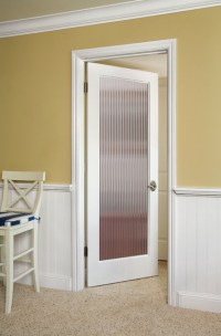 Decorative Glass Interior Doors