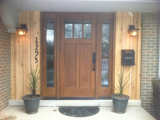 Front doors contemporary entry detroit by fingerle