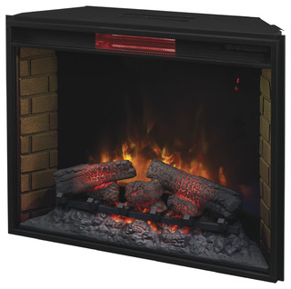 Infrared Electric Fireplace Insert 33quot Traditional