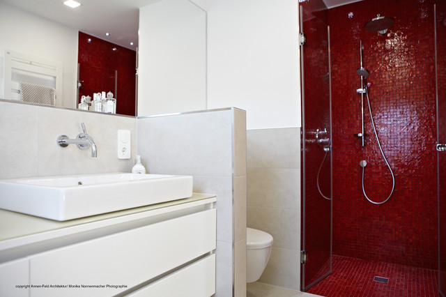 Sanierung Landhaus 30er Jahre - Modern - Badezimmer - Düsseldorf - badezimmer 30er jahre
