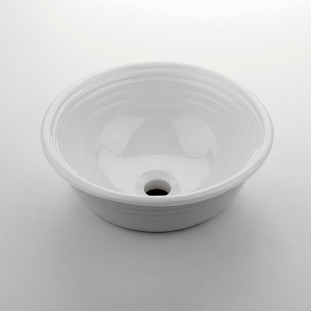Hancock Round Vessel Vitreous China Lavatory Sink