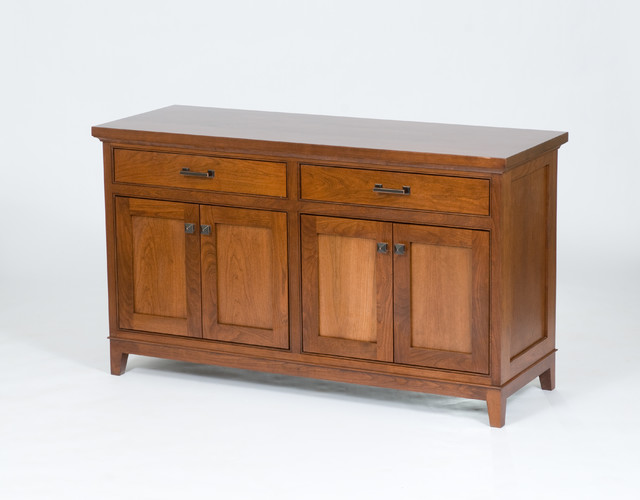 Moderner Buffetschrank Custom Cherry Buffet - Modern - Buffets And Sideboards