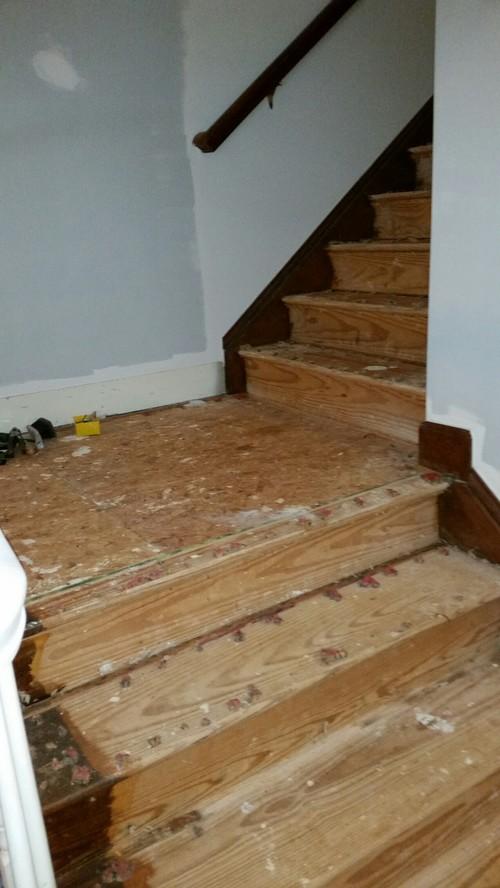 staircase landing design