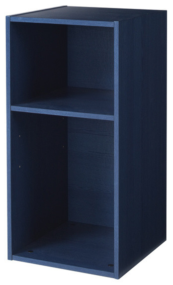 Flexhome Kids Blue Pine 15 Inch Multifunctional Cube