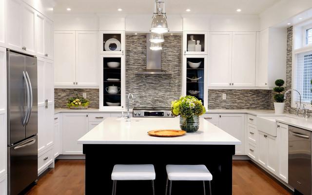 Paton Terrace Kitchen - Transitional - Kitchen - Other - by - transitional kitchen design
