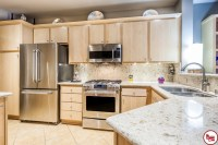Irvine - Cabinetry Refacing - Modern - Kitchen - orange ...