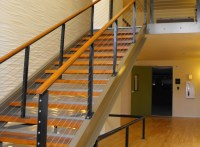 Stair Cable Railing - Modern - Staircase - Other - by ...