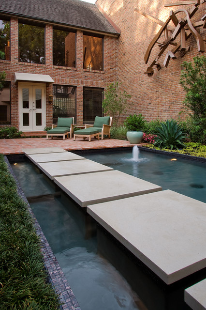 Sofas For Sale Houston Modern Koi Pond - Contemporary - Landscape - Houston - By