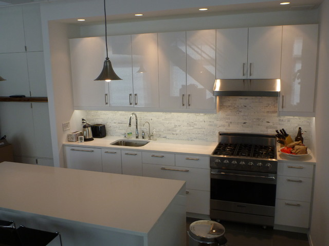 Counter Height Stools Ikea Ikea Kitchen: Abstrakt White Manhattan - Contemporary