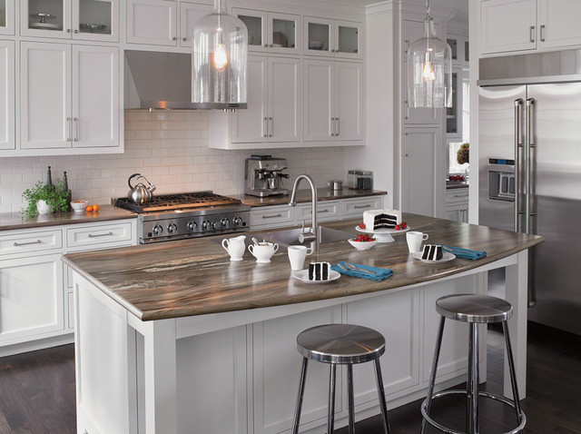 Seifer Countertop Ideas - Transitional - New York - by Seifer - kitchen design center