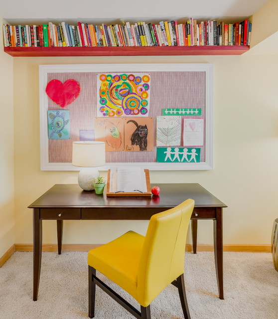 office space organized creative space transitional home office organized interior design office space peltier interiors