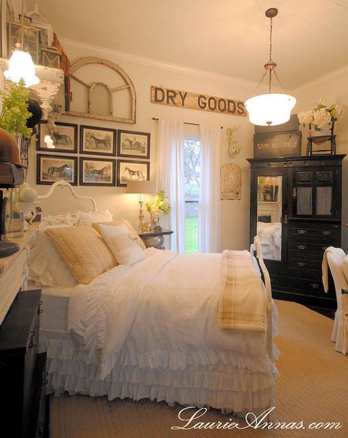 Farmhouse Bedroom - Farmhouse - Bedroom - Dallas - farmhouse bedroom ideas