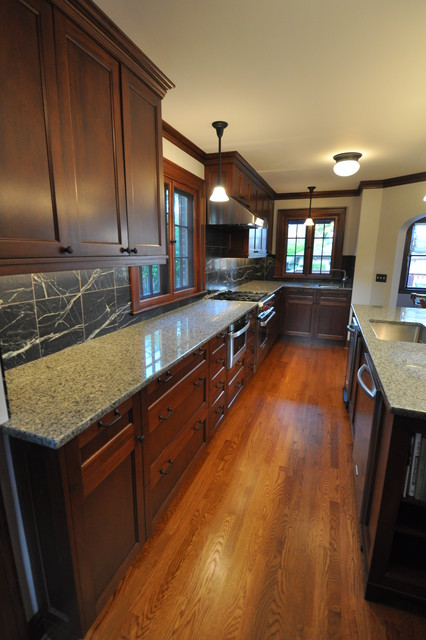 Home Builders Seattle Tudor Kitchen - Traditional - Kitchen - Seattle - By