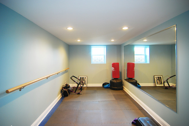 Exercise Room - Traditional - Home Gym - New York - By Home Design