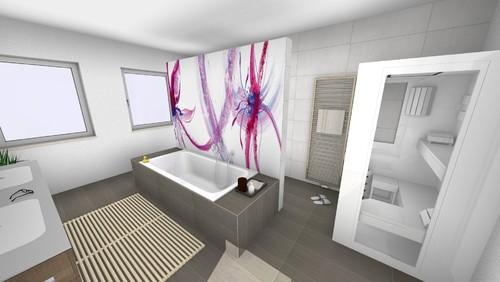 Wandidee Für Eine T Lösung Im Bad   Badezimmer T Wand