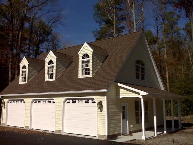 Custom 3-Car Garage - Traditional - Garage - By C.E. Mills General