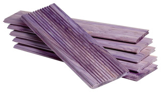 Aromatic Cedar Drawer Liners Set Of 10 Contemporary