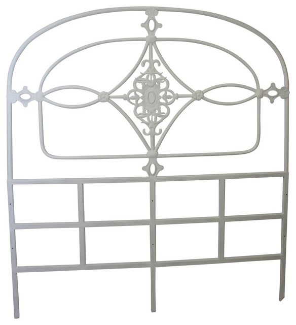 Joulet Iron Headboard, Queen - Traditional - Headboards - by Dr