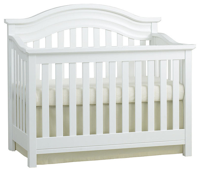 Baby Cache Riverside Lifetime Convertible Crib White