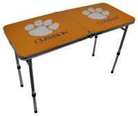 Clemson University Tigers Folding Aluminum Tailgate Table ...