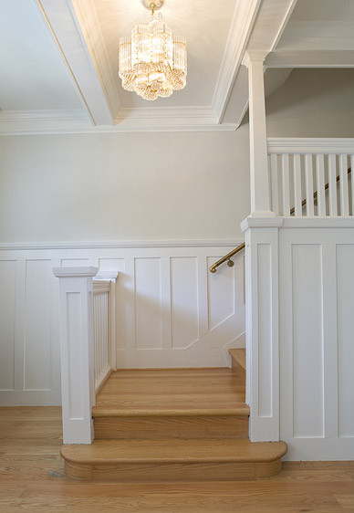 Bathroom Wainscoting Height Feldman Architecture