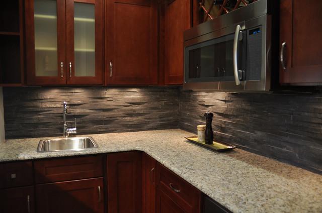 island stone rustic himachal black backsplash modern kitchen rustic kitchen backsplash tile