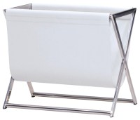 Mag Magazine Rack, White - Modern - Magazine Racks - by ...