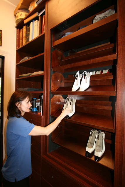 Https Www Houzz Com Motorized Shoe Carousel - Traditional - Closet - By