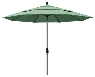 1139 Aluminum Umbrella Collar Tilt Matted Black