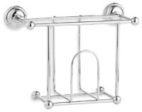 Wall Mounted Magazine Rack - Contemporary - Magazine Racks ...