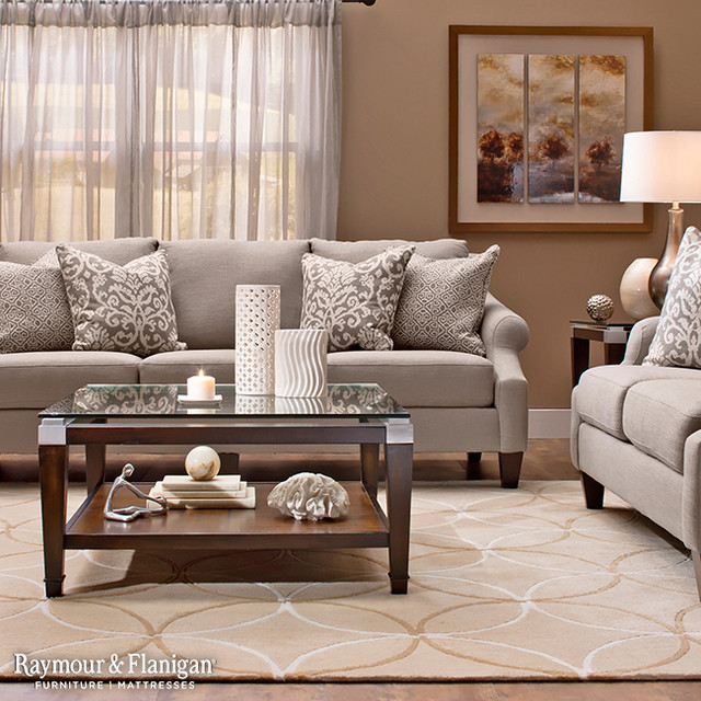 Tatiana Collection - raymour and flanigan living room sets
