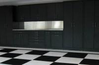 Powder Coated Steel Cabinets & Epoxy Checker Board Floor ...