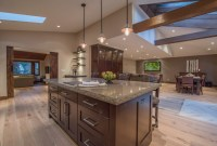 Open Concept Floor Plan With Vaulted Ceilings - Rustic ...