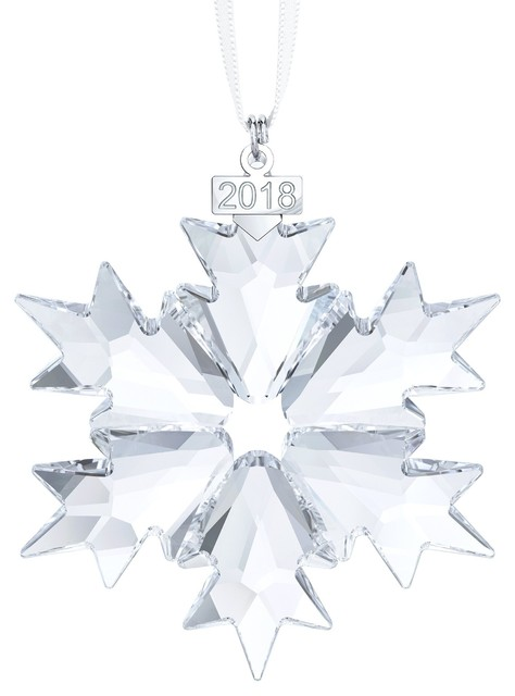 Swarovski Annual Edition Ornament 2018 - Contemporary - Christmas