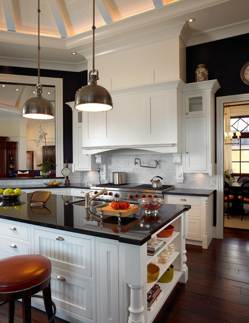 Sophisticated Key West Style - Traditional - Kitchen - Miami - by - key west style home decor