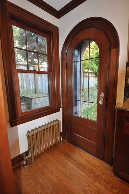 Tv In Front Of Window Interior Design Tudor Kitchen - Traditional - Entry - Seattle - By Ventana